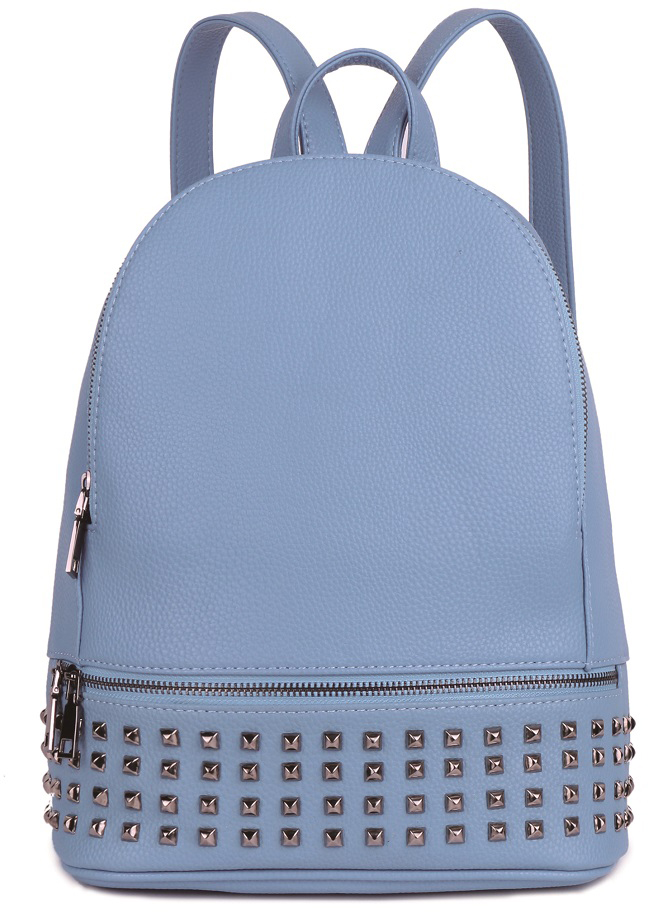 Рюкзак женский OrsOro, цвет: голубой, 26 x 32 x 11 см. DS-861/4