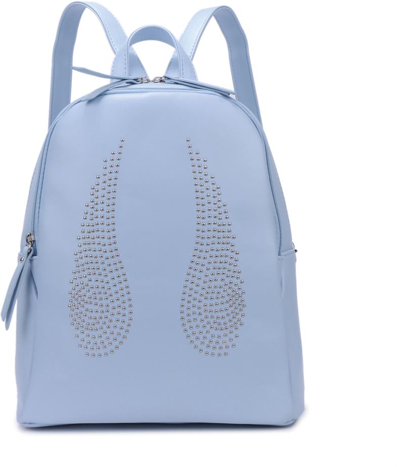 Рюкзак женский OrsOro, цвет: голубой, 28 x 32 x 13 см. DS-841/4
