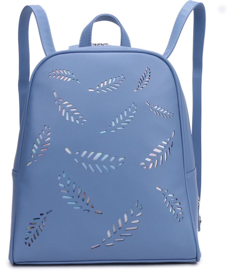 Рюкзак женский OrsOro, цвет: голубой, 32 x 28,5 x 13 см. DS-843/2