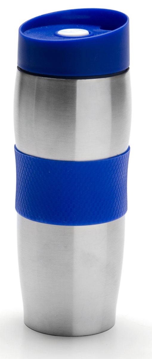Фляга Mayer & Boch, 390 мл. 27108, цвет: синий, черный, 390 мл. 27108