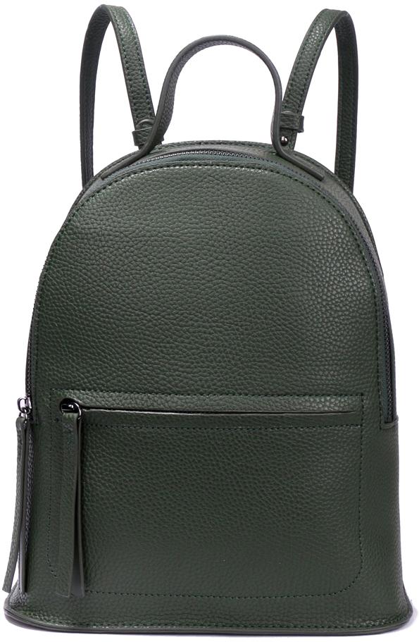 Рюкзак женский OrsOro, цвет: зеленый, 24 x 28 x 11 см. DS-863/4