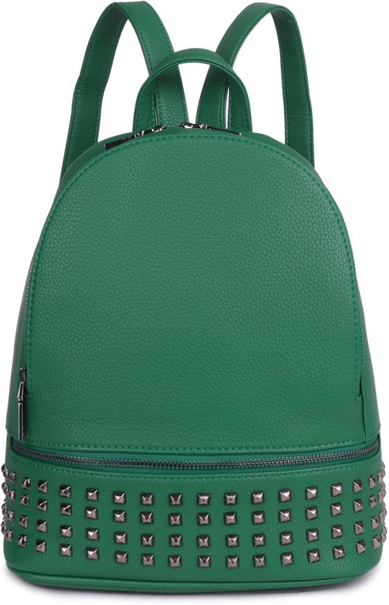 Рюкзак женский OrsOro, цвет: зеленый, 26 x 30 x 11 см. DS-860/4