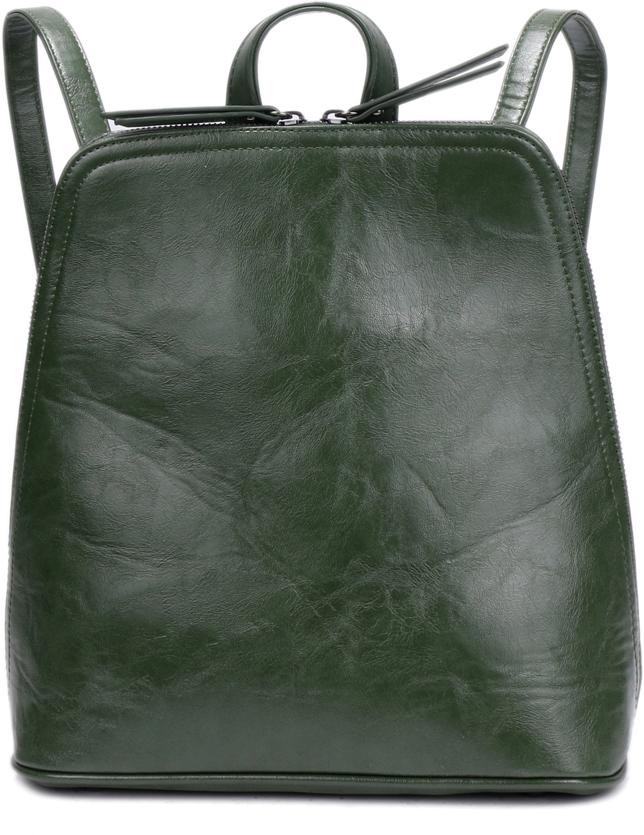 Рюкзак женский OrsOro, цвет: зеленый, 27 x 29 x 12 см. DS-848/3