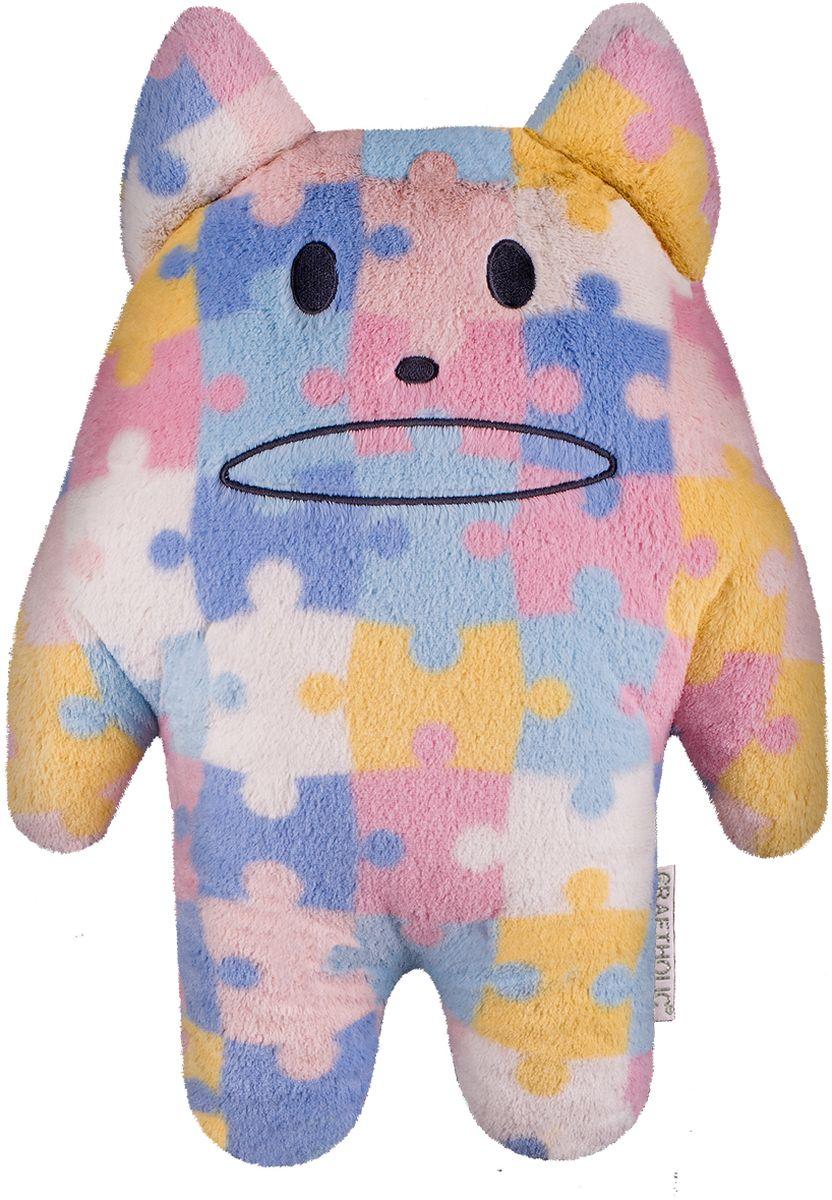 Craftholic Мягкая игрушка Кот Korat 44 см C135-34 - Мягкие игрушки