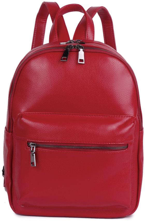 Рюкзак женский OrsOro, цвет: красный, 29 x 25 x 16 см. DS-858/3DS-858/3Рюкзак женский OrsOro выполнен из высококачественной искусственной кожи.Благодаря этому он будет радовать вас долгое время не теряя своих функциональных характеристик и визуальной привлекательности в течениевсего срока эксплуатации. Рюкзак с двумя отделениями на металлической молнии, внешний накладной карман на передней стенке, внутренний карман в основном отделении на молнии, во втором отделении карман для телефона с окантовкой. Внешний карман на задней стенке. Модный, стильный и оригинальный рюкзак станет великолепным аксессуаром. Любая модница будет приятно удивлена не только внешней привлекательностью рюкзака, но и удобством в использовании. Рюкзак женский - это стильный аксессуар, который подчеркнет вашу изысканность и индивидуальность и сделает ваш образ завершенным. С таким рюкзаком вы не останетесь незамеченной!