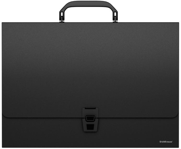 Erich Krause Папка-портфель Classic формат A4 цвет черный