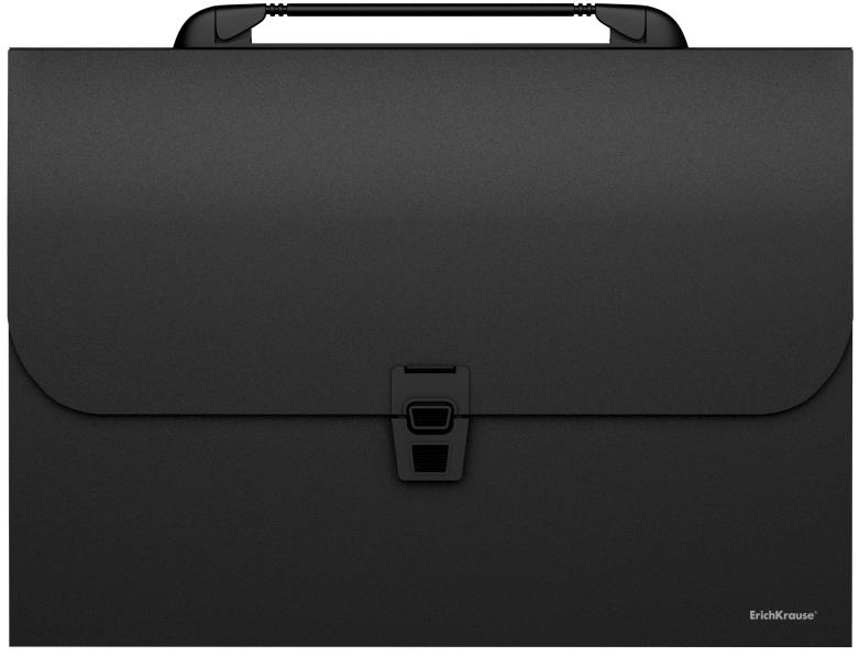 Erich Krause Папка-портфель Classic 12 отделений формат A4 цвет черный