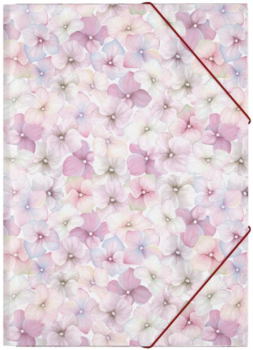 Erich Krause Папка на резинках Phloxes формат A445313Формат А4; Дизайн Phloxes; Толщина - 0,55мм; материал - полипропилен; тиснение - песок; вместимость листов -120; тип фиксации - резинка