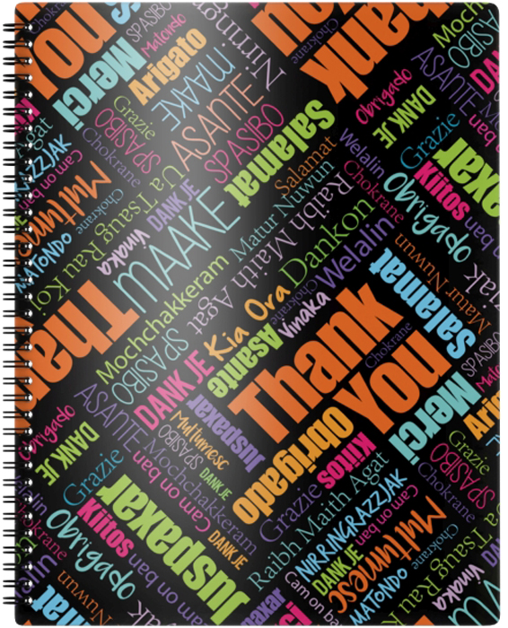 Erich Krause Папка для бумаг Thank you! с 20 файлами формат А4 - Папки