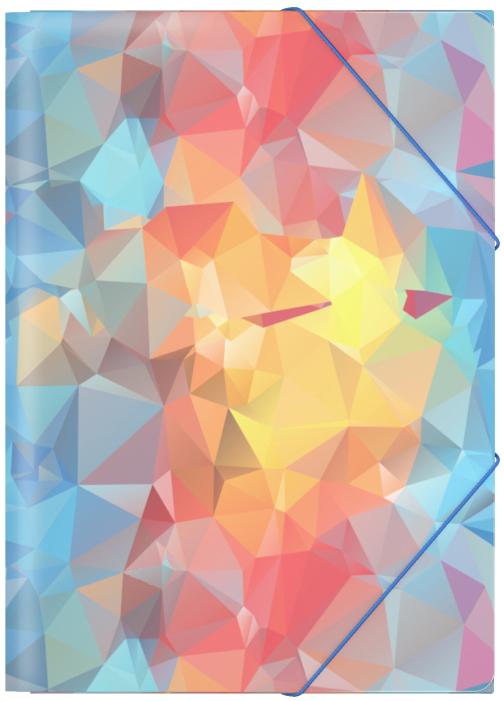 Erich Krause Папка на резинках Dynamique формат A445378Формат А4; Дизайн Dynamique; Толщина - 0,55мм; материал - полипропилен; тиснение - песок; вместимость листов -120; тип фиксации - резинка
