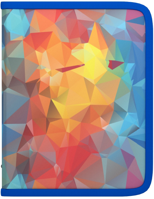 Erich Krause Папка на молнии Dynamique формат A5+45384Формат А5+; Дизайн - Dynamique; Толщина - 0,55мм; материал - полипропилен; тиснение - песок; тип фиксации - молния