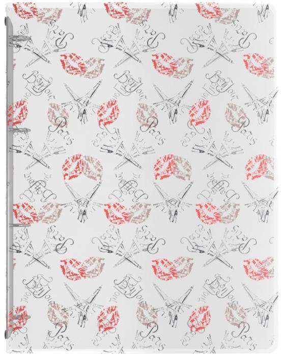 Erich Krause Файл на 4 кольцах Bonjour формат А4 erich krause папка на 4 х кольцах classic 24 мм формат а4 цвет черный