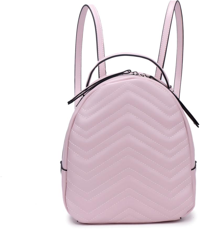 Рюкзак женский OrsOro, цвет: розовый, 23 x 25 x 11 см. DS-878/4