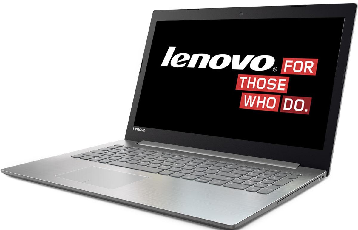 Lenovo IdeaPad 320-15IAP, Grey (80XR0026RK)80XR0026RKКаждая деталь Lenovo IdeaPad 320-15IAP создана для того, чтобы облегчить жизнь пользователя. Ноутбук слегкостью справляется с любыми задачами благодаря мощному процессору и встроенной видеокарте.Процессор Intel Pentium N4200 и память DDR4 гарантируют высокое быстродействие и стабильнуюпроизводительность. Запускай одновременно множество программ, с легкостью переключайся междувкладками веб-браузера и наслаждайся многозадачностью без помех.Ноутбук Lenovo IdeaPad 320-15IAP создан для решения самых разных задач. Он защищен специальнымизносостойким покрытием, устойчивым к бытовым повреждениям, а также прорезиненными деталями снизу,которые обеспечивают максимальную вентиляцию и продлевают срок службы изделия.Ноутбук Lenovo IdeaPad 320-15IAP имеет дисплей стандарта HD с антибликовым покрытием. Ты по достоинствуоценишь четкость и реалистичность изображения при просмотре фильмов и веб-серфинге.Lenovo IdeaPad 320-15IAP оснащен динамиками, оптимизированными для технологии Dolby Audio, чтообеспечивает кристально четкий звук с минимальными искажениями на любой громкости. Запусти потоковуюпередачу любимой музыки или общайся в видеочате с близкими и родными - аудиосистема передасттончайшие нюансы звука.Точные характеристики зависят от модификации.Ноутбук сертифицирован EAC и имеет русифицированную клавиатуру и Руководство пользователя