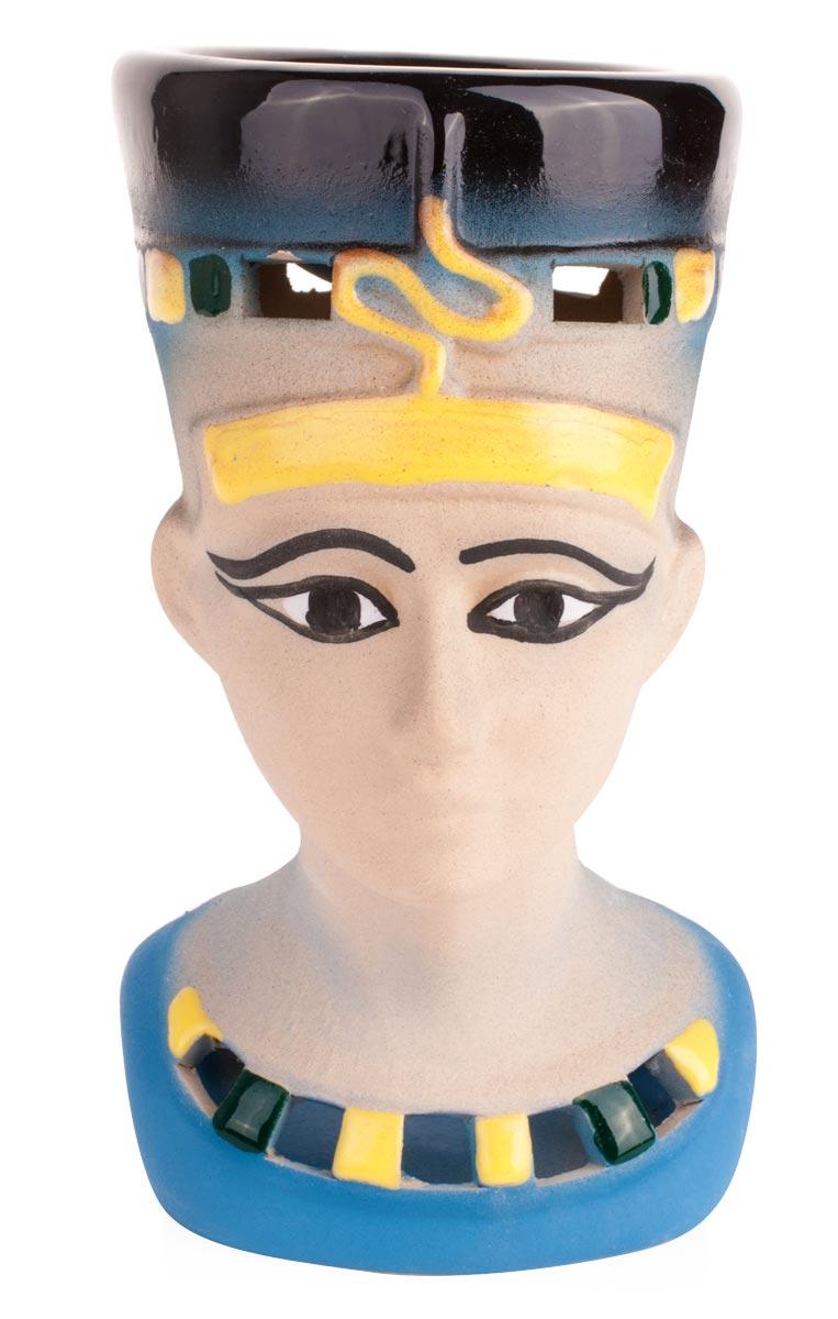 Аромалампа Нефертити, цвет: мультиколор, 9 х 16 см аромалампа шар