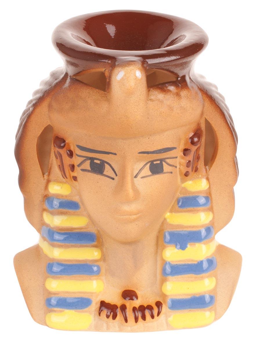 Аромалампа Клеопатра, цвет: мультиколор, 11,5 см кувшинчик с сердечком аромалампа керамика 8х10 см без упаковки