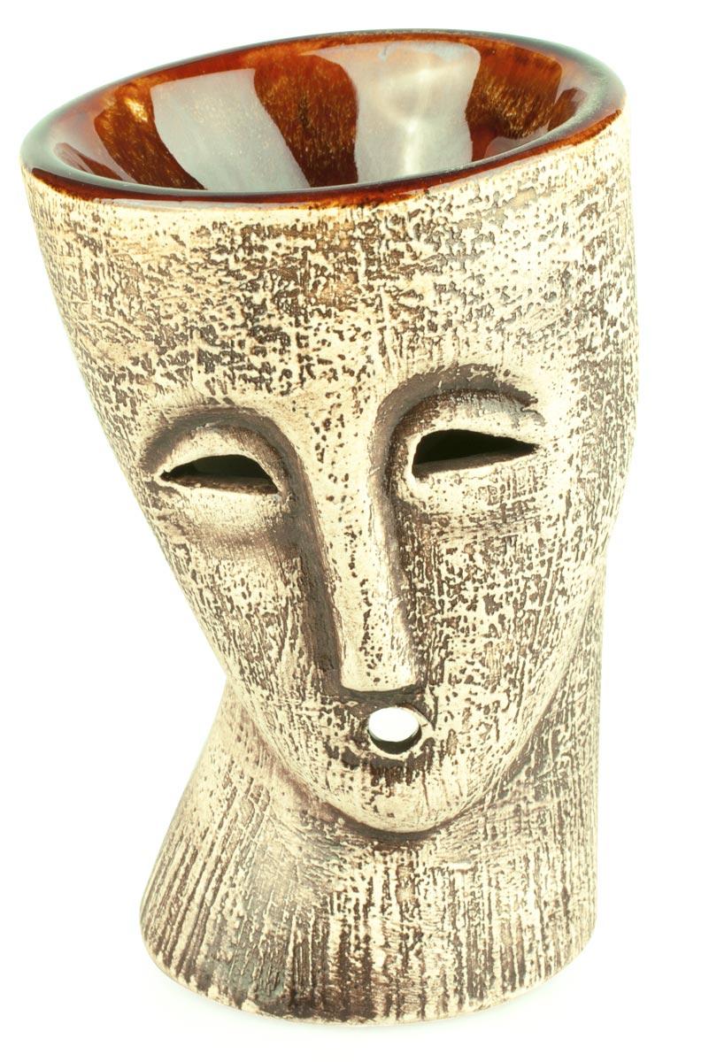 Аромалампа Пьеро, цвет: коричневый, 12 см аромалампа шар