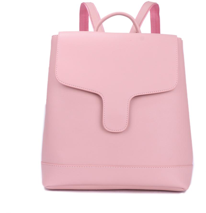 Рюкзак женский OrsOro, цвет: светло-розовый, 30 x 32 x 12 см. DS-882/4