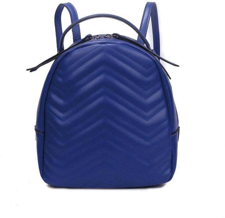 Рюкзак женский OrsOro, цвет: синий, 23 x 25 x 11 см. DS-878/3