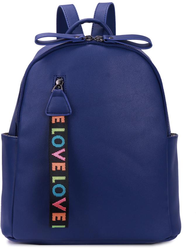 Рюкзак женский OrsOro, цвет: синий, 28 x 31,5 x 12 см. DS-877/5