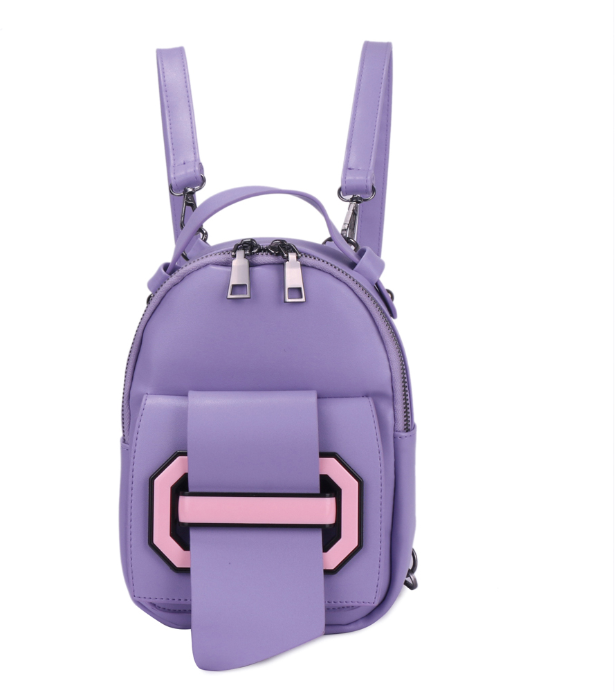 Рюкзак женский OrsOro, цвет: сиреневый, 16 x 22 x 7 см. DS-871/4 orsoro ds 871 1 black