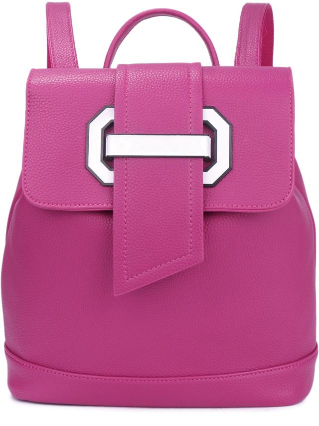 Рюкзак женский OrsOro, цвет: фуксия, 27 x 32 x 13 см. DS-879/3