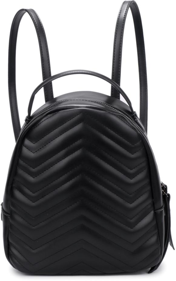 Рюкзак женский OrsOro, цвет: черный, 23 x 25 x 11 см. DS-878/1