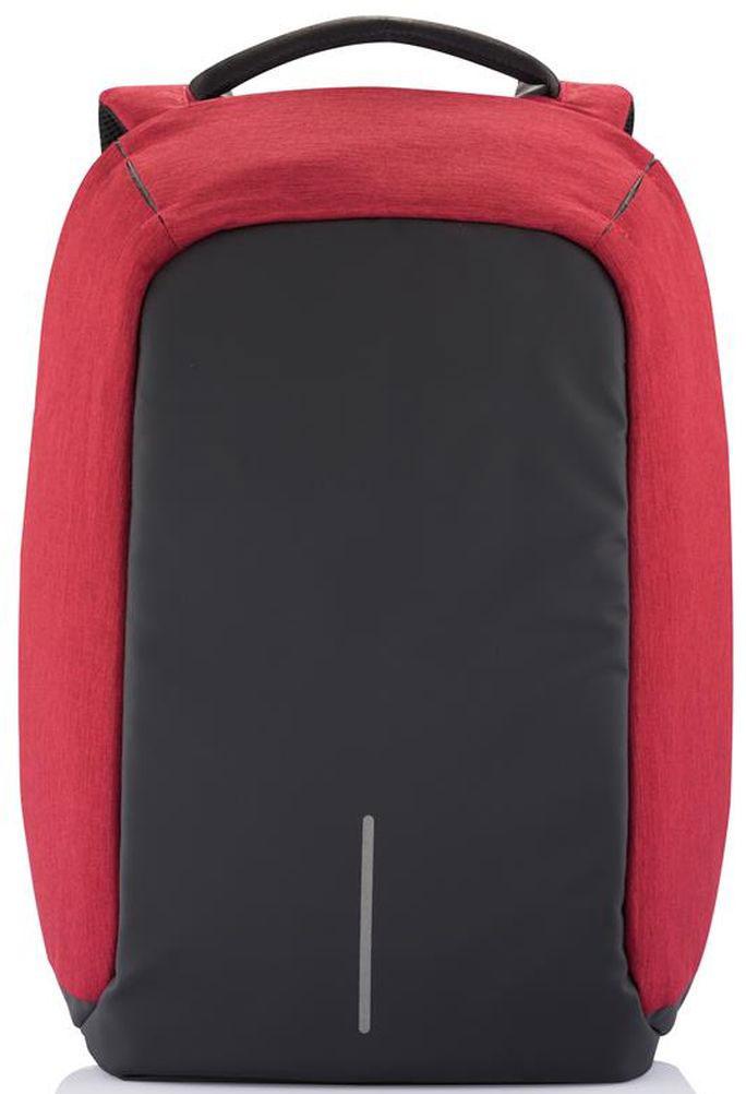 Рюкзак для ноутбука XD Design Bobby, до 15, цвет: красный, 13 лP705.544Стильный, удобный, продуманный до мелочей городской рюкзакXD Design Bobby для настоящего гика с системой защиты от краж. Детально проработанная организация отделов позволяет грамотно распределить вес и снизить нагрузку на плечи. На первый взгляд незаметная молния в основной отдел идет прямо по краю спинки самого рюкзака. Уникальная концепция позволяет открывать рюкзак под тремя разными углами: 30°, 90°, 180°. Для создания прочной конструкции и защиты от порезов используется пять слоев из разного типа материалов. Особенности: - Полная защита от карманников: не открыть, не порезать. - USB-порт для зарядки гаджетов от спрятанного внутри рюкзака аккумулятора. - Светоотражающие полосы. - Супер-легкий: на 25% легче аналогов. - Отделение для ноутбука до 15,6. - Отделение для планшета. - Влагозащита. - Лямка для крепления на чемодан.