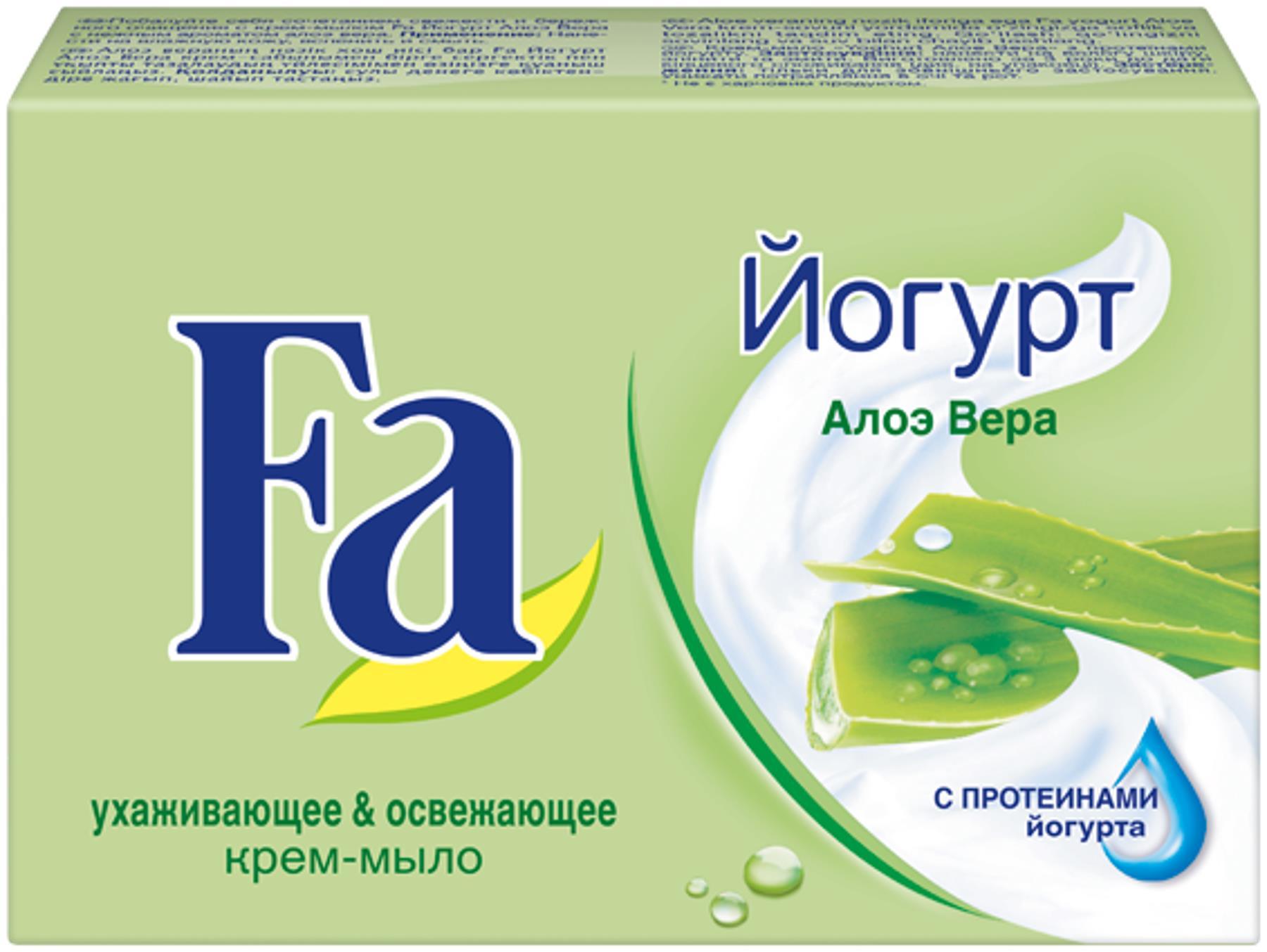 Fa Мыло Кусковое Yoghurt Алоэ Вера, 90 г