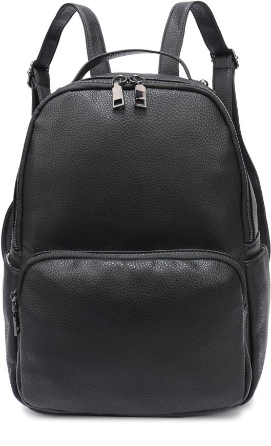 Рюкзак женский OrsOro, цвет: черный, 25 x 30 x 13 см. DS-862/1