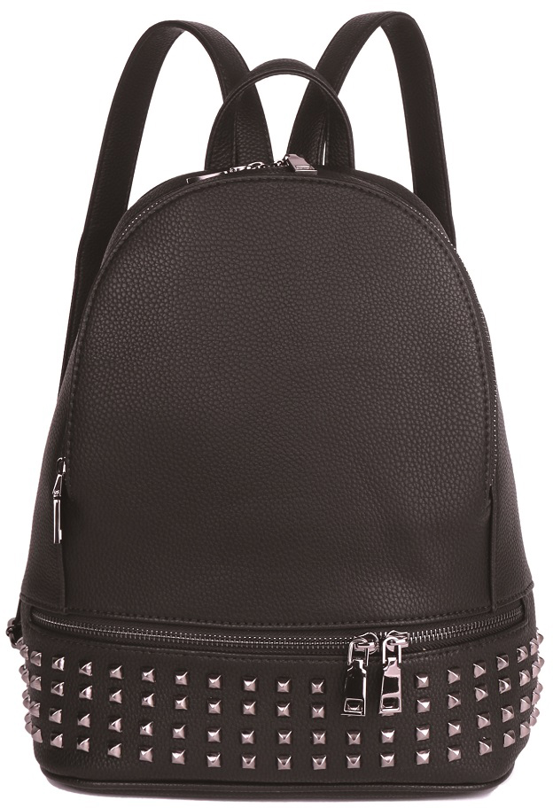 Рюкзак женский OrsOro, цвет: черный, 26 x 32 x 11 см. DS-861/1