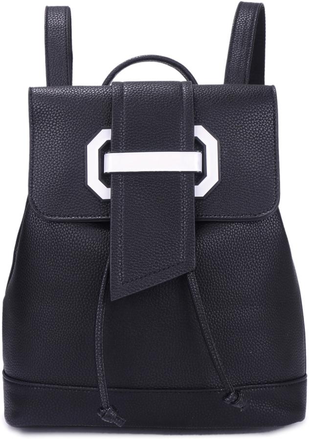 Рюкзак женский OrsOro, цвет: черный, 27 x 32 x 13 см. DS-879/1