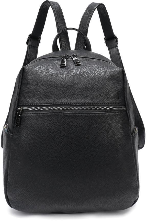 Рюкзак женский OrsOro, цвет: черный, 30 x 32 x 16 см. DS-859/1