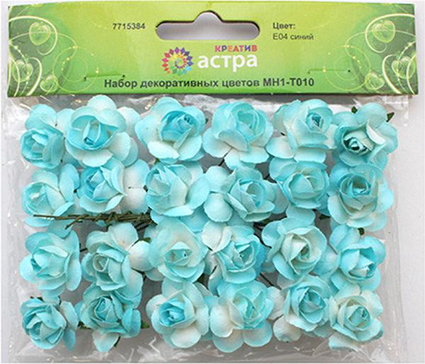 Набор декоративных цветов Астра, цвет: синий, 2 х 2 см, 24 шт7715384_E04 синийНебольшие букетики на проволочном стебельке. Назначение: скрапбукинг, декорирование открыток, рамок для фотографий, другие виды творчества.Размер: 2х2 см.В упаковке 24 цветка.