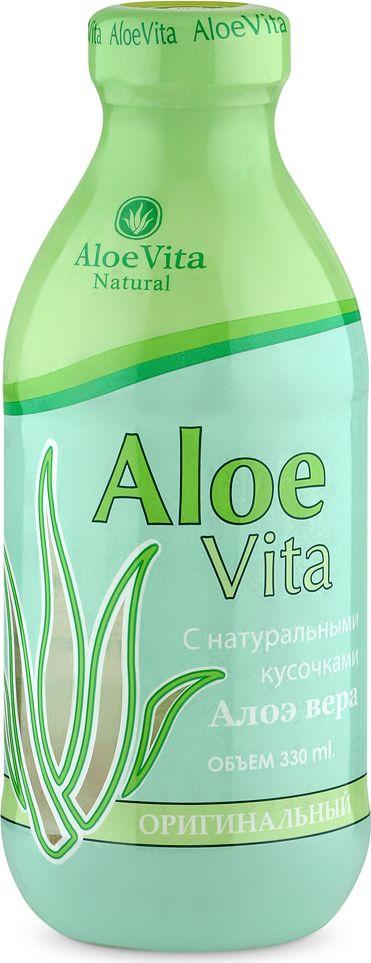 Aloe Vita Оригинальный Напиток с кусочками алоэ негазированный, 0,33 л4607071272167Напиток Aloe Vita Оригинальный с кусочками алоэ полезен для пищеварения и способствует укреплению иммунитета. Он является источником множества витаминов и биологически активных веществ и помогает сохранить крепкое здоровье. Напиток подойдет тем, кто следит за своим самочувствием и выбирает только качественные натуральные продукты. Упаковка стекло. Хранить в защищенном от солнца помещении при Т от 0 до +25