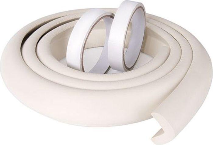 ПОМА Мягкая безопасная лента с дополнительным набором наклеек цвет белый 2 м погремушка пома 1