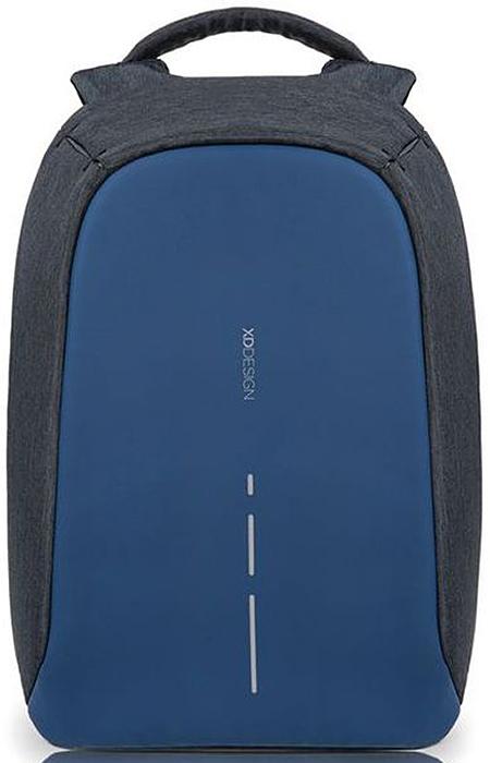 Рюкзак для ноутбука XD design Bobby Compact, до 14, цвет: темно-серый, темно-синий, 11 лP705.535Рюкзак для ноутбука до 14 XD design Bobby Compact - это второе поколение противоугонного рюкзака меньшего размера. Несмотря на то, что габариты изделия стали меньше, благодаря продуманному расположению и устройству отделений влезет все, что может пригодиться в течение дня.Преимущества: • Полная защита от карманников: не открыть, не порезать. • Вшитый USB-порт для зарядки гаджетов. • Светоотражающие полосы. • Супер-легкий: на 25% легче аналогов. • Отделение для ноутбука до 14. • Отделение для планшета. • Чехол-кошелек для мелких аксессуаров. • Крепления для бутылки воды и камеры.