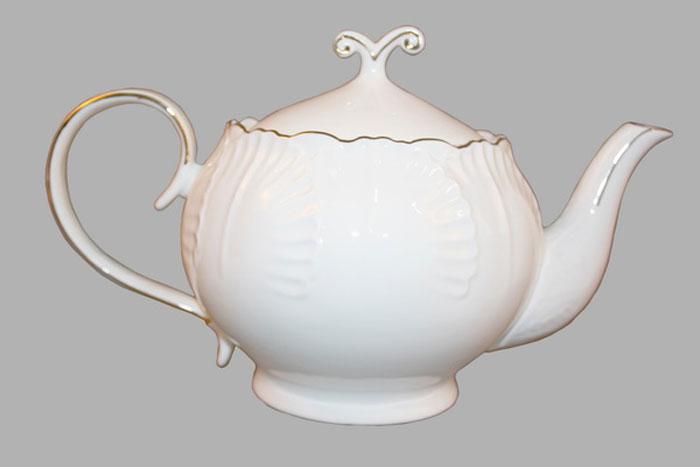 Чайник заварочный Olaff Капуста, 1,2 л. DHN-BC-G-DSTP кухонный гарнитур мегаэлатон флорида 2000 х 1300 белый венге светлый рифленый гранит