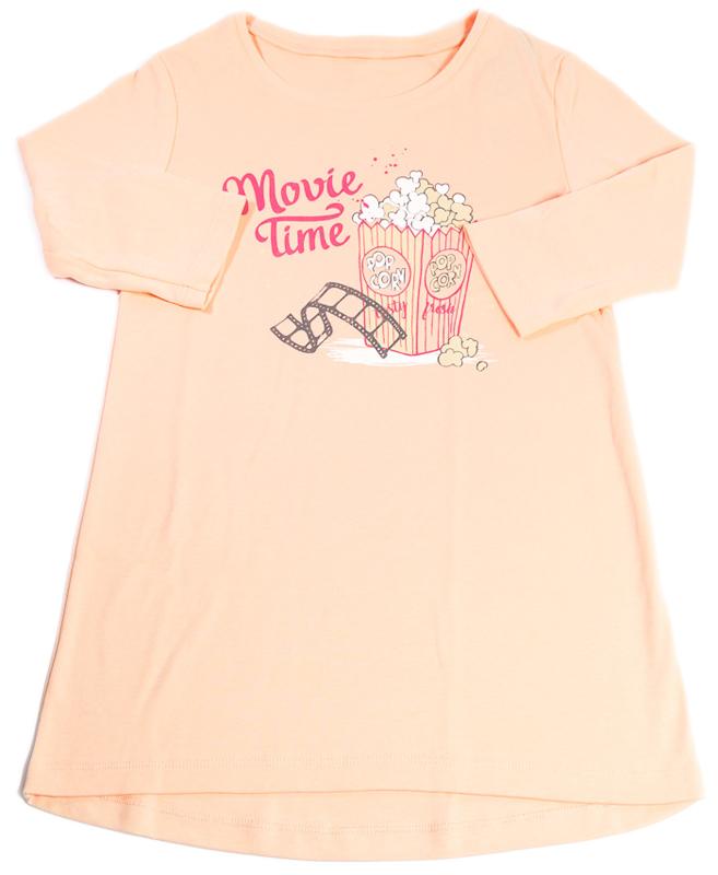 Ночная рубашка для девочки Mark Formelle, цвет: коралловый. 2486-2. Размер 122 рубашка million x для девочки цвет бежевый
