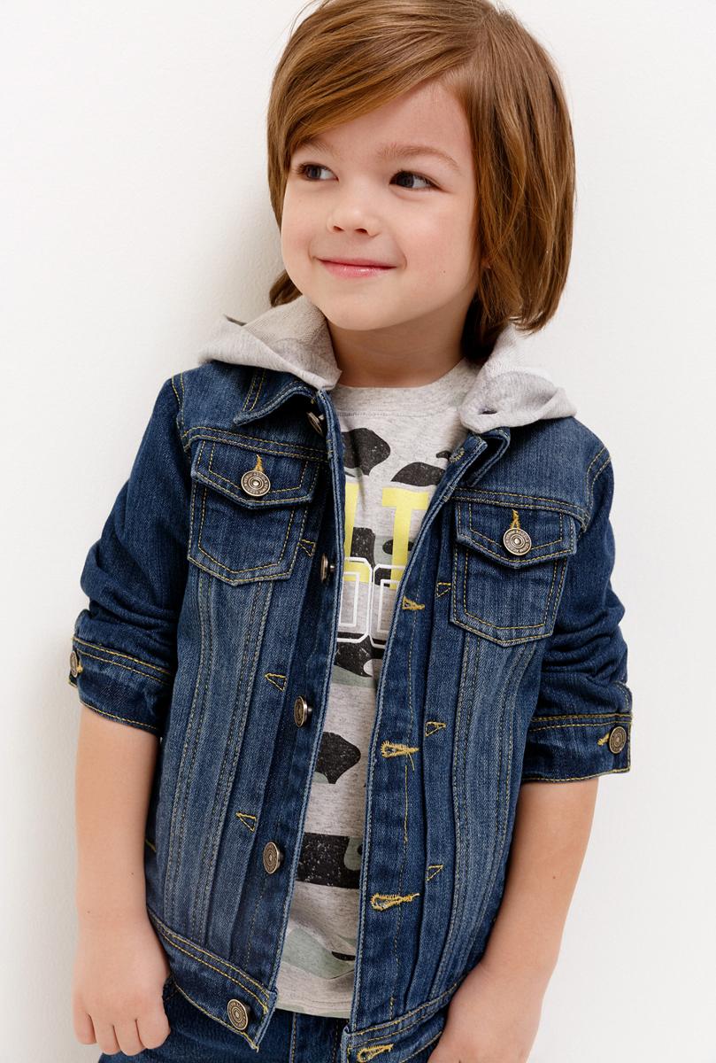 Жакет для мальчика Acoola Sega, цвет: синий. 20120130114_500. Размер 128 жакет для мальчика acoola sega цвет синий 20120130114 500 размер 128