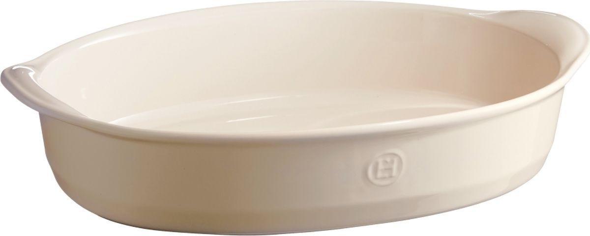 Форма для запекания Emile Henry Ultime, цвет: кремовый, 41 см029054Овальная форма коллекции Ultime от Emile Henry. Высокопрочная керамика, из которой изготовлена форма, равномерно распределяет и сохраняет тепло, что идеально для приготовления запеканок, гратенов, лазаний. Форма достаточно вместительна, и в ней можно подавать блюда прямо на стол.