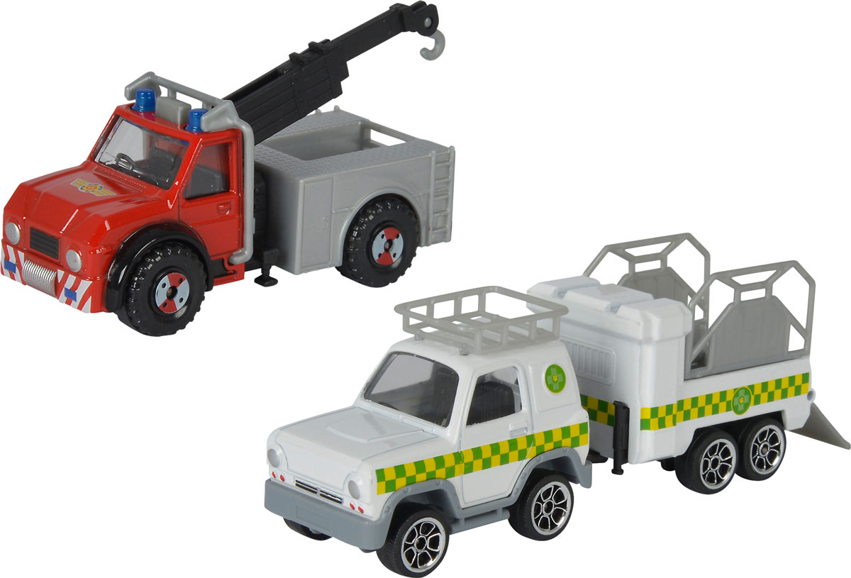 Dickie Toys Набор пожарной техники цвет белый красный серый 3 шт dickie toys 3113001 sideswipe