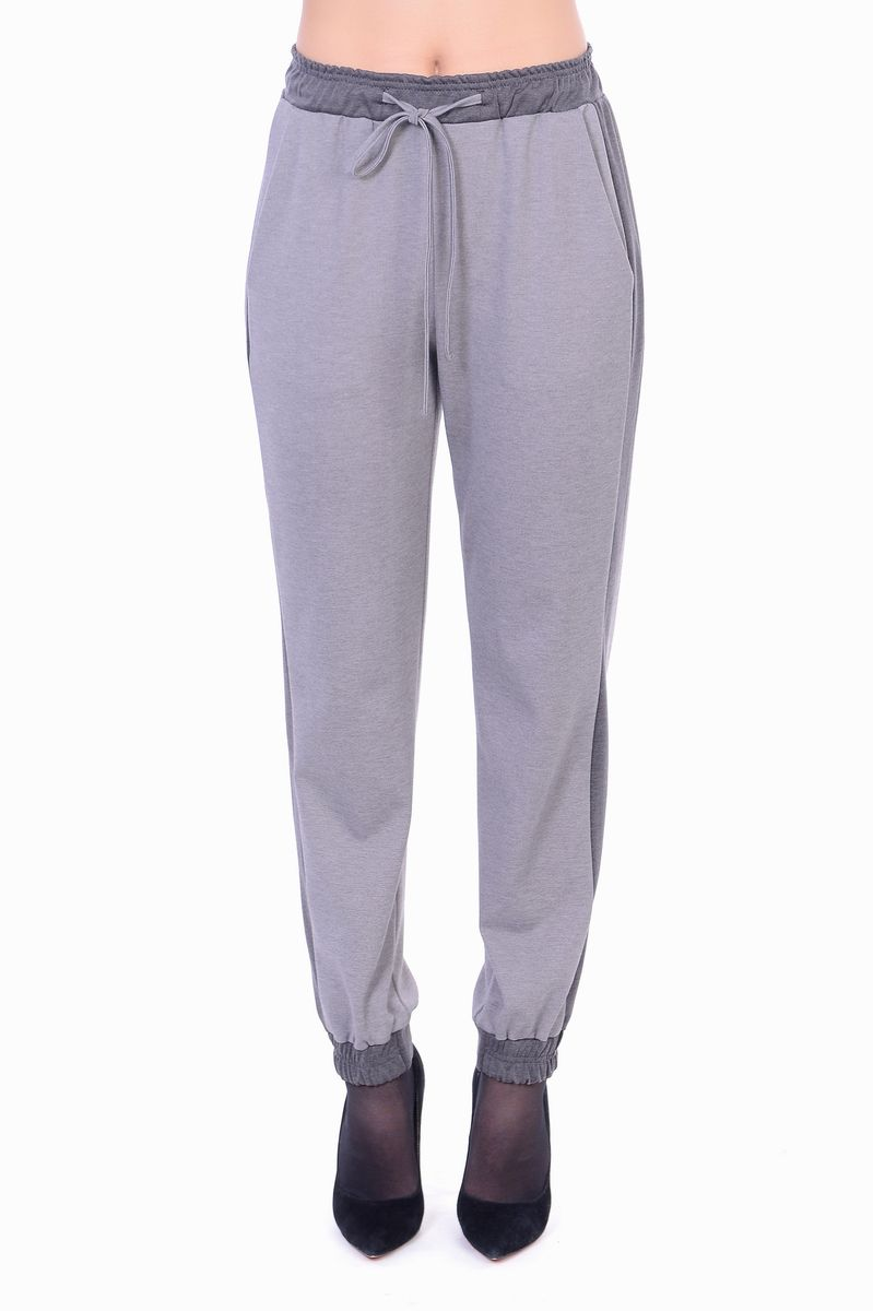 Брюки женские Lautus, цвет: серый. б054. Размер 50 блузки lautus блузка
