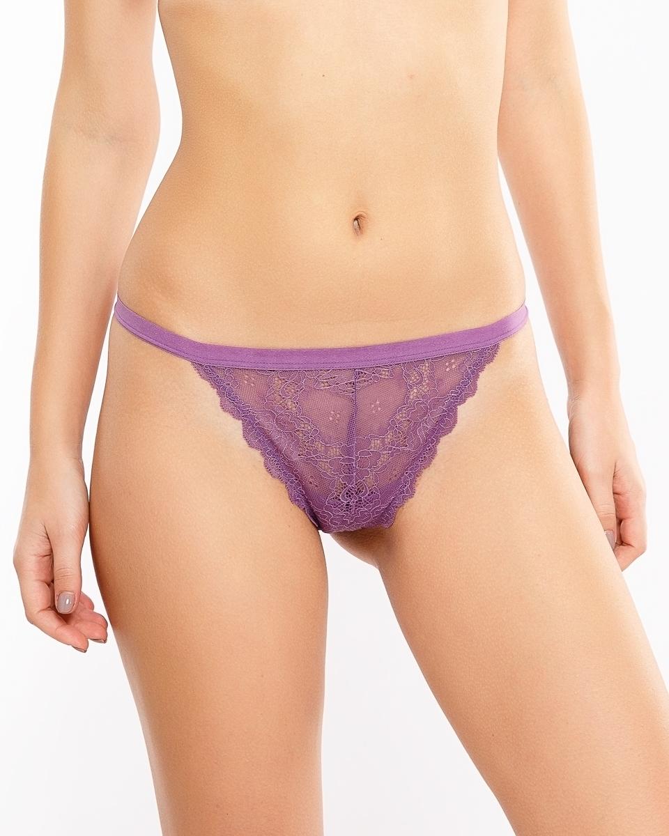Трусы женские Mark Formelle, цвет: фиолетовый, валериана. 412256_ 1-833-10. Размер M (46)412256_ 1-833-10
