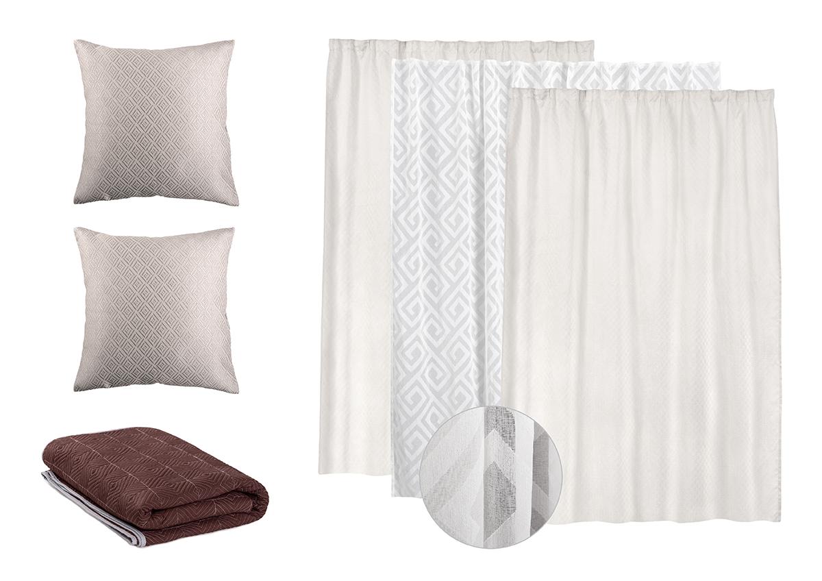Комплект текстиля Balance grey, Wess