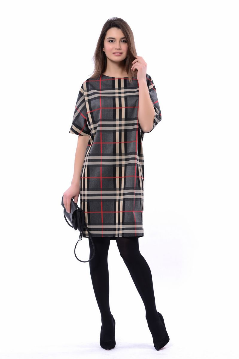 Платье женское Lautus, цвет: серый. 1132. Размер 441132