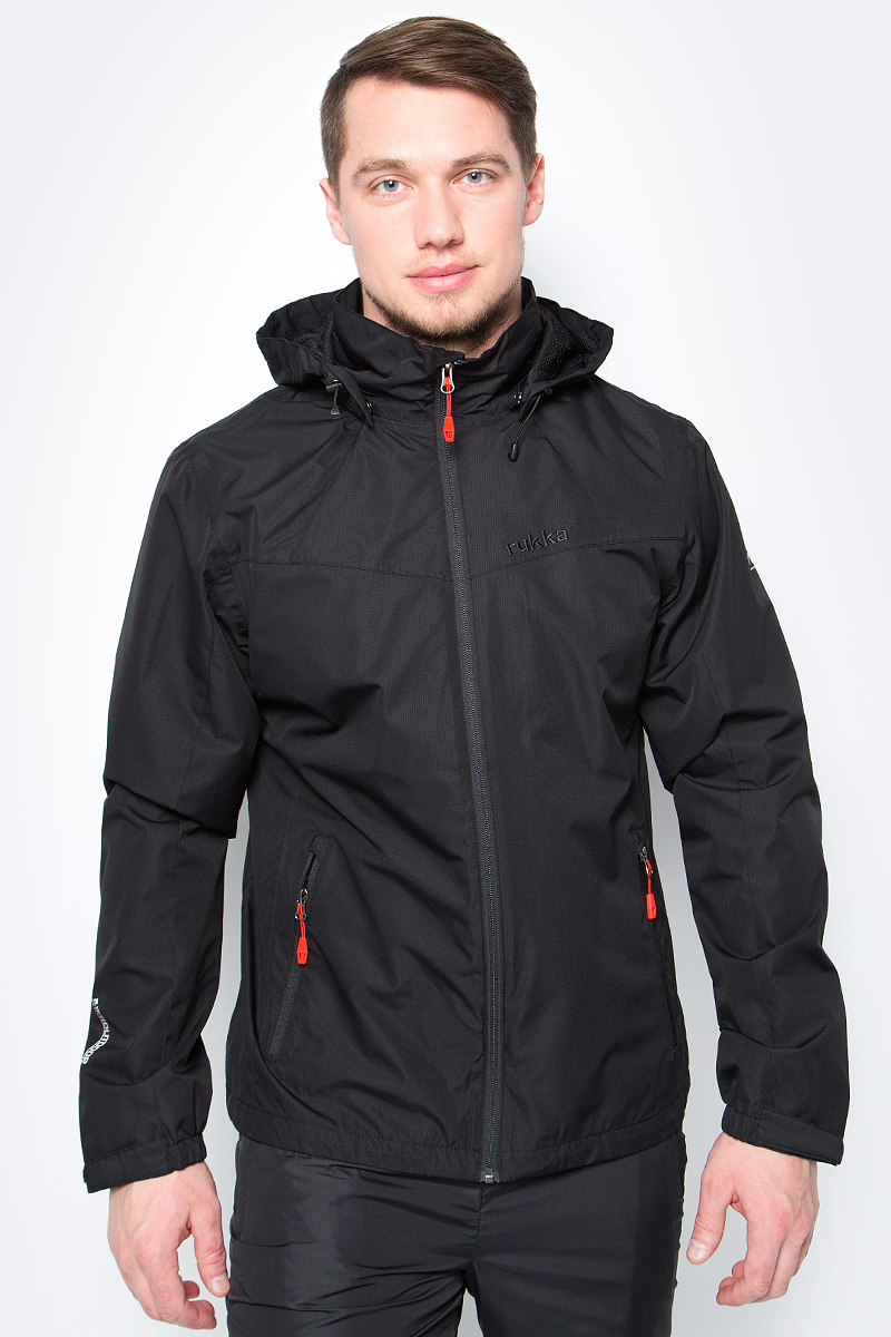 Куртка мужская Rukka, цвет: черный. 979306291RV_990. Размер M (50)979306291RV_990