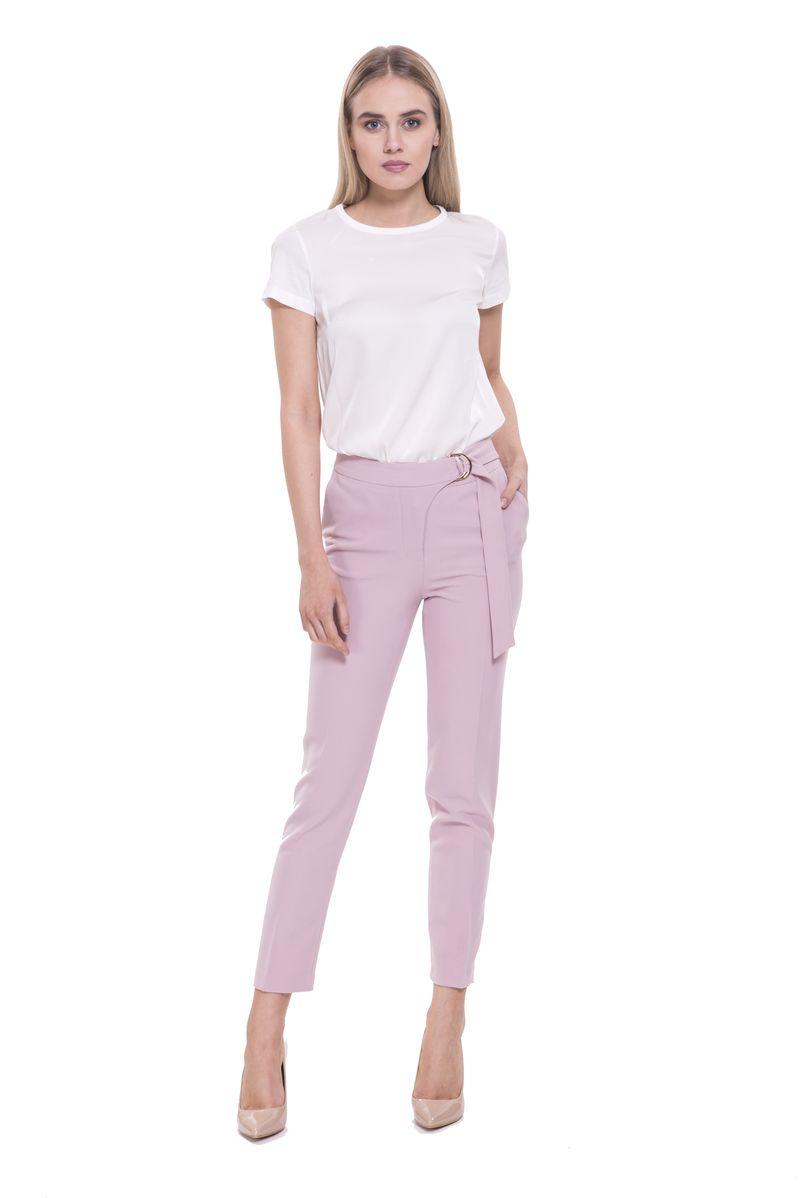 Брюки женские Lusio, цвет: розовый. SS18-130021. Размер XS (40/42)