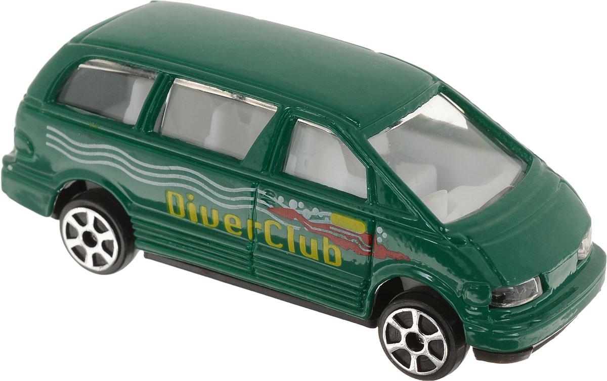 Pioneer Toys Машинка Street Machine цвет зеленый