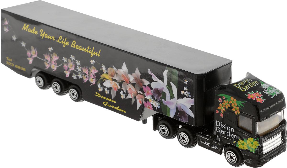Pioneer Toys Машинка Трейлер Фура цвет черный экономичность и энергоемкость городского транспорта